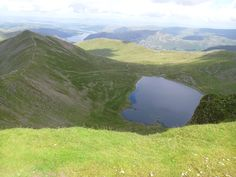 Red Tarn, Hellvelyn, Lake District, Cumbria, England