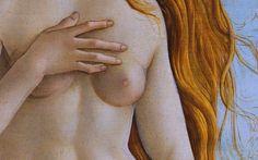 Sandro Botticelli, The Birth of Venus (details), c 1485