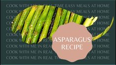 COOK WITH ME ASPARAGUS IN A PAN Cooking Box, Cream Cheese Sauce, Recipe T, Home Recipes, Asparagus, Easy Meals, Make It Yourself, Music, Musica