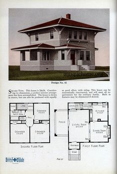 The Ravenswood Aladdin Home Plans For 1916 House