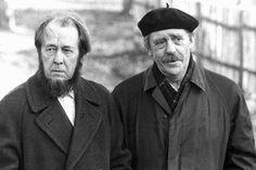 Alexander Solzhenitsjin & Heinrich Böll
