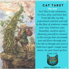 Monthly readings on my YouTube channel: www.youtube.com/c/cattarot Book your reading: www.cattarot.ca Love, Cat #tarot #tarotcards Tarot The Fool, Tarot Cards, This Is Us, Have Fun, Channel, Feelings, Reading, Cats, Book