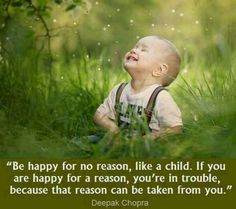 Deeprak Chopra Be Happy for No Reason