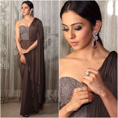 @rakulpreet  Outfit - @shantanunikhil  Jewelry - #tibarumaljewels  Styled by - @geetikachadhaofficial  #bollywood #style #fashion #beauty #bollywoodstyle #bollywoodfashion #indianfashion #celebstyle