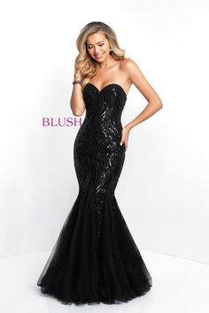 67ebe19e313 Flowing chiffon skirt with hand beaded bodice. See more. BlushProm.com Style  11510 Prom Dress Stores