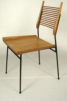Paul McCobb dining room chair.  Growing up, our house was furnished with Paul McCobb furniture.