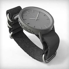 Titanium gray watch by rvnDSGN