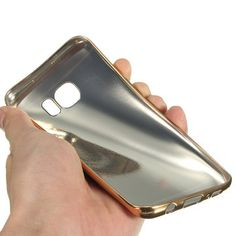 Ultra Thin Soft Leather+TPU Case Cover For Samsung Galaxy S7 Edge Sale - Banggood.com Samsung Accessories, Galaxy S7, Samsung Galaxy, S7 Edge, Cell Phone Cases, Soft Leather, Perfect Fit, Gadgets, Gadget