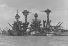 Pearl Harbour Attack, Pearl Harbor, Battleship, West Virginia, Sailing Ships, Boats, Racing, World, Classic