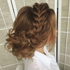 wedding hairstyle updo 10 via antonina roman