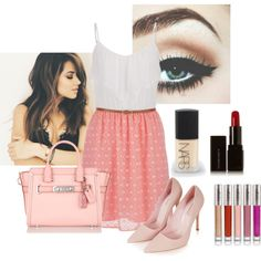 Summer date by mysweetescape98 on Polyvore featuring maurices, Topshop, Coach, NARS Cosmetics, Illamasqua and CARGO