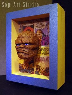 Thing in a Box -original sculpture by Christopher Soprano