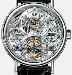 Breguet Men's Luxury Skeleton/Mechanical Watch
