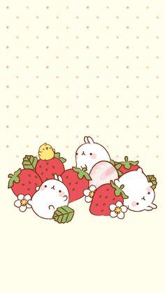 Strawberry Molang Summersaults