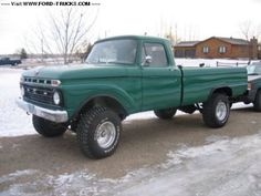 1966 F-250 4X4 LWB Fleet side bed |Ford
