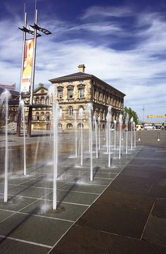 Custom House Square in Belfast by Go To Belfast, via Flickr