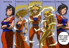 Fem Goku dbz