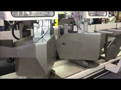 PromaX-5 axis cnc aluminum profile double head cutting machine