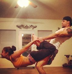 36 best couples yoga/workouts images  yoga partner yoga