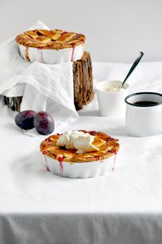 Pie Tuesday? Totally a thing....Elodie's Bakery: Plum pie with a pinch of star anise