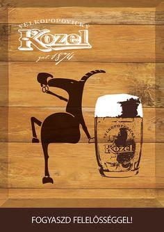 Kozel Beer Poster Design