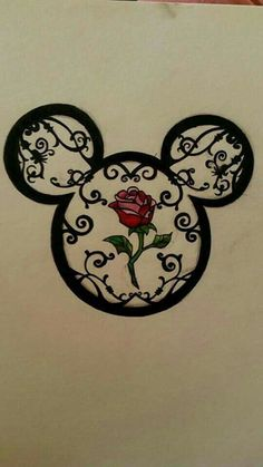 Tattoo designs disney mickey mouse 52 ideas for 2019 Art Disney, Disney Kunst, Disney Love, Disney Mickey, Disney Ideas, Cute Drawings, Tattoo Drawings, Drawing Sketches, Drawing Ideas