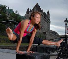 Ichih is a wonderful instructor who chose Ottawa to live and teach Yoga.