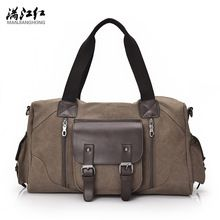 {Like and Share if you want this  2017 New Men's Vintage Canvas Travel Bag Male Handbag Leisure Bag Bucket Bag Man's Big Bag 1375|    Innovative arrival 2017 New Men's Vintage Canvas Travel Bag Male Handbag Leisure Bag Bucket Bag Man's Big Bag 1375 now at discount $US $47.00 with free postage  you can get this particular piece plus much more at our favorite eshop      Have it now on this site…