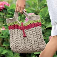 Crochet Along: Sweet Summer Crochet Handbag