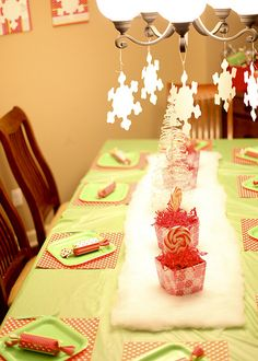 Table setting idea