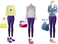 """wardrobing - purple pants"" by e-leigh-style on Polyvore"