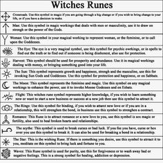 Runes- from fb Wicca Teachings Magick Spells, Wicca Witchcraft, Wiccan Runes, Ancient Runes, Blood Magick, Types Of Witchcraft, Celtic Runes, Hoodoo Spells, Magick Book