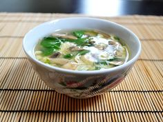 This quick and easy egg drop soup is warm and soothing on cold days or when you're feeling under the weather. Step by step photos.