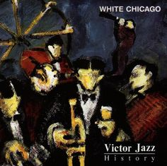 1996 Victor Jazz History Vol.3: White Chicago [RCA 74321285572] cover painting by Alice Choné #albumcover