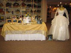 50th wedding anniversary - I like displaying the wedding dress