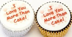 A single Valentine Cupcake, decorated with your personalised Valentine message. Your words are printed on a background of red hearts and completely edible. Sent in its own little box for delivery on Valentine's Day. Surprise the one you love with a cupcake gift!     http://www.caketoppers.co.uk/index.asp?Item=single-personalised-valentine-cupcake--71535891