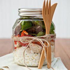 Tofu Salad Recipe with Sesame-Lemon Dressing - Mason Jar Recipes for Salads and Desserts for Picnics | Shape Magazine