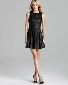 Rebecca Minkoff Leather Dress  #MillionDollarShoppersDanielle