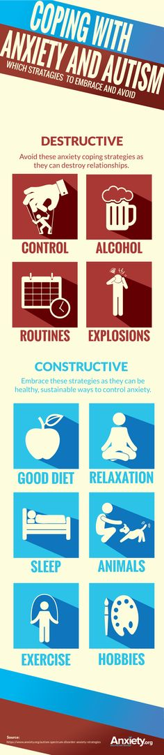 Autism Spectrum Disorder Causes High Anxiety Levels. Repinned by SOS Inc. Resources pinterest.com/sostherapy/.