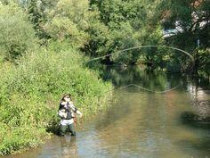 Fliegenfischen in Deutschland das Trachten Hut