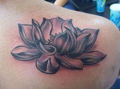 black n grey lotus lotus tattoos