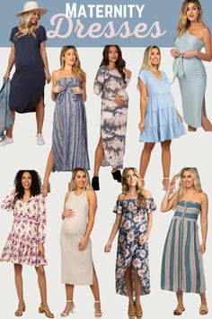 Maternity dresses! Lovingggg these spring inspired maternity clothes. This maternity fashion is so so so fun from the colors to the print. Maternity outfits inspo for the year. #maternityclothes #maternityfashion #maternityoutfits #maternitydresses #maternity Casual Maternity, Maternity Outfits, Pregnancy Outfits, Maternity Fashion, Pregnancy Style, Maternity Clothing, Trendy Diaper Bags, Maternity Underwear, Clothes For Pregnant Women