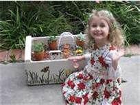 Fairy Garden Ideas - Bing Images  Put the fairy garden in a pretty box.  (That Papa makes...)