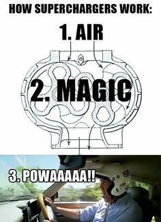 How do car supercharger works Truck Memes, Funny Car Memes, Car Humor, Hilarious, Bmw Autos, Buggy, Work Memes, Fast Cars, Funny Photos