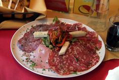 Antipasto.  Only the best meats