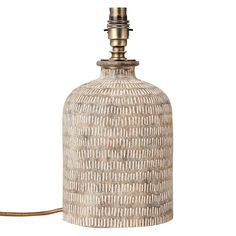 Buy Grey John Lewis & Partners Hilbre Etched Ceramic Lamp Base, from our Desk & Table Lamps range at John Lewis & Partners. Ceramic Boxes, Ceramic Teapots, Ceramic Decor, Ceramic Pottery, Ceramic Lamps, Ceramic Workshop, Ceramic Studio, John Lewis, Ceramic Candle Holders
