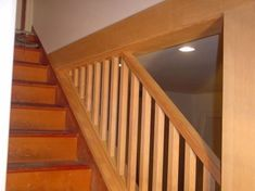 a new post handrail and part of the stairs were rebuilt to install a