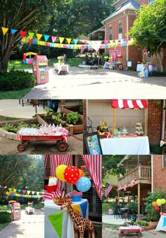 Step Right Up for Baker's 1st Birthday Carnival