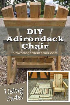 Anarondak Chairs, Wood Patio Chairs, Fire Pit Chairs, Diy Deck, Backyard Patio, Diy Furniture Plans, Furniture Making, Furniture Makeover, Wood Furniture