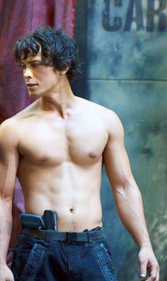 I've never wanted to be a gun so badly.......Bob Morley as Bellamy Blake in The 100